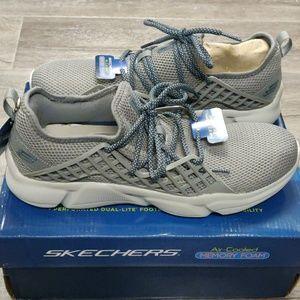 Skechers Drafter Men's Sneaker Memory Foam Grey